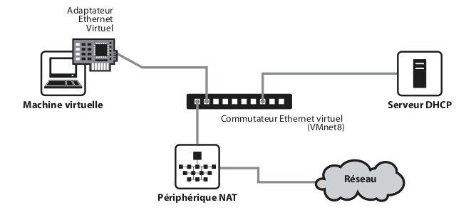 Le réseau NAT
